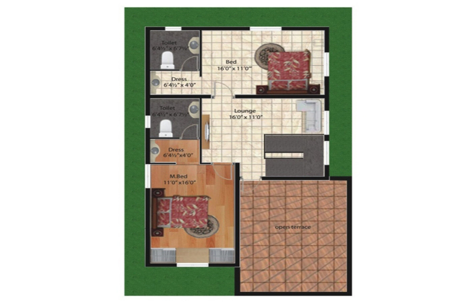 Adhvya phase II Floor plan