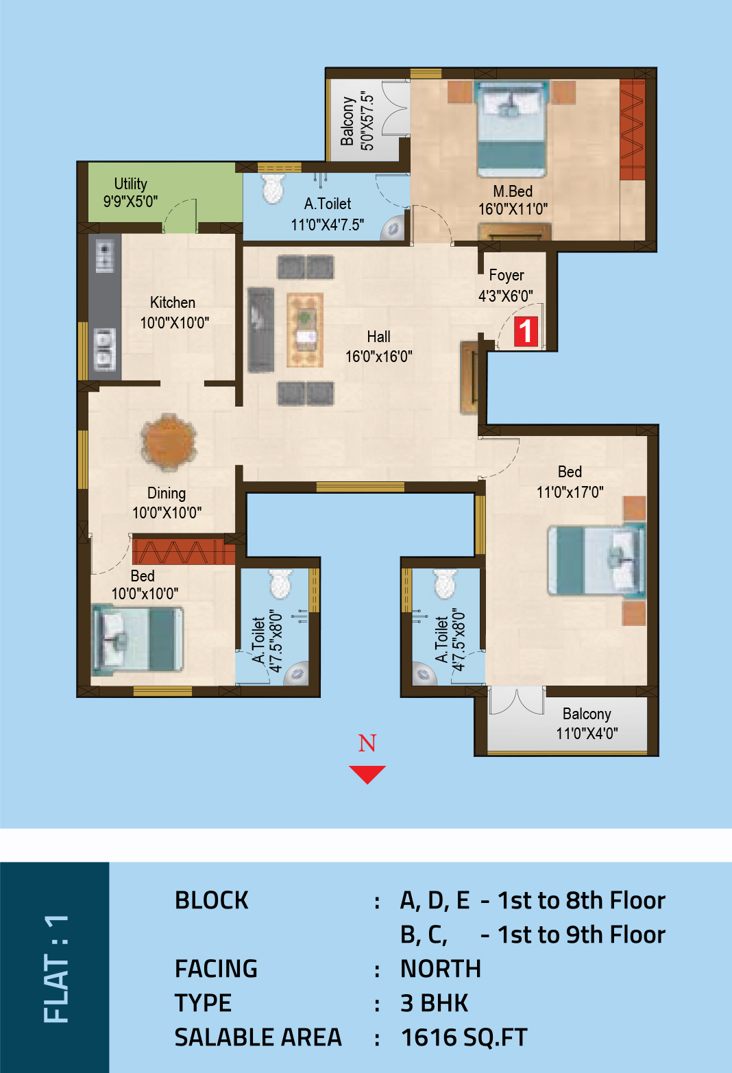 Hreeva Floor Plan