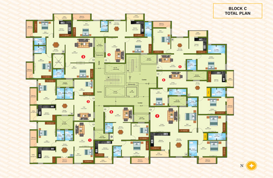 Thvisha Floor Plan