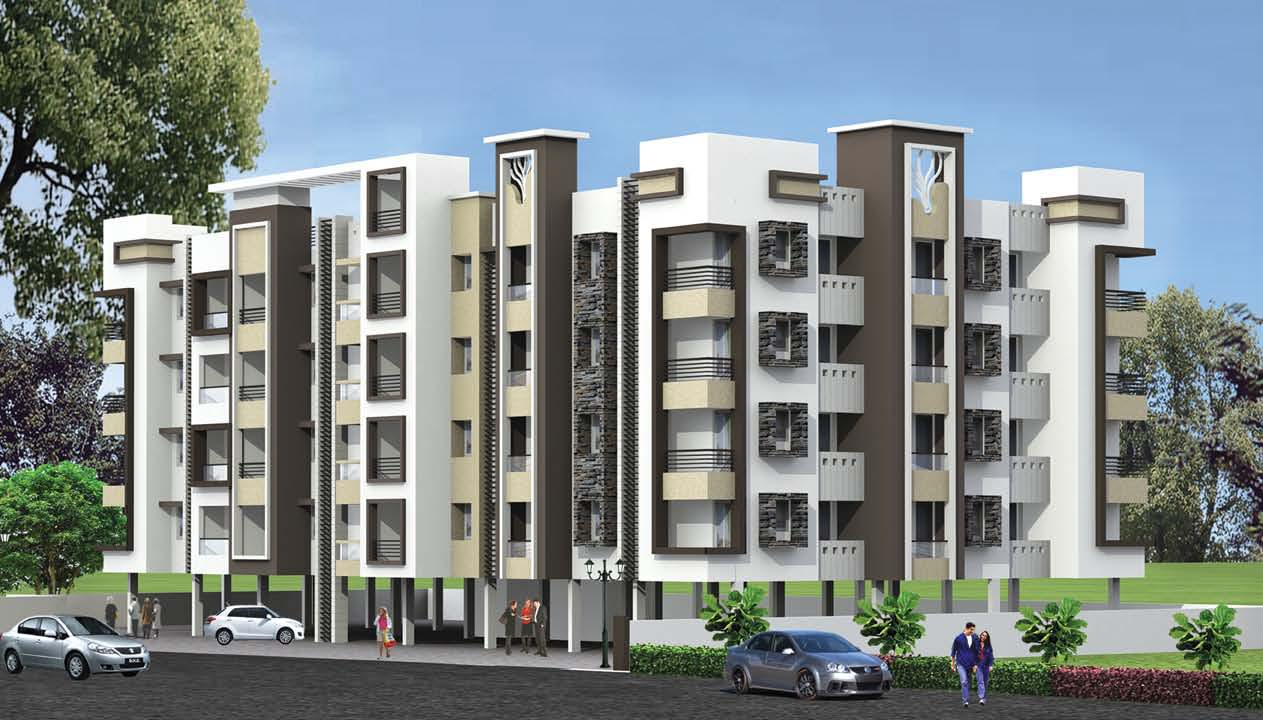 vhridhaa-apartment-elevation - Sree Daksha Property Developers