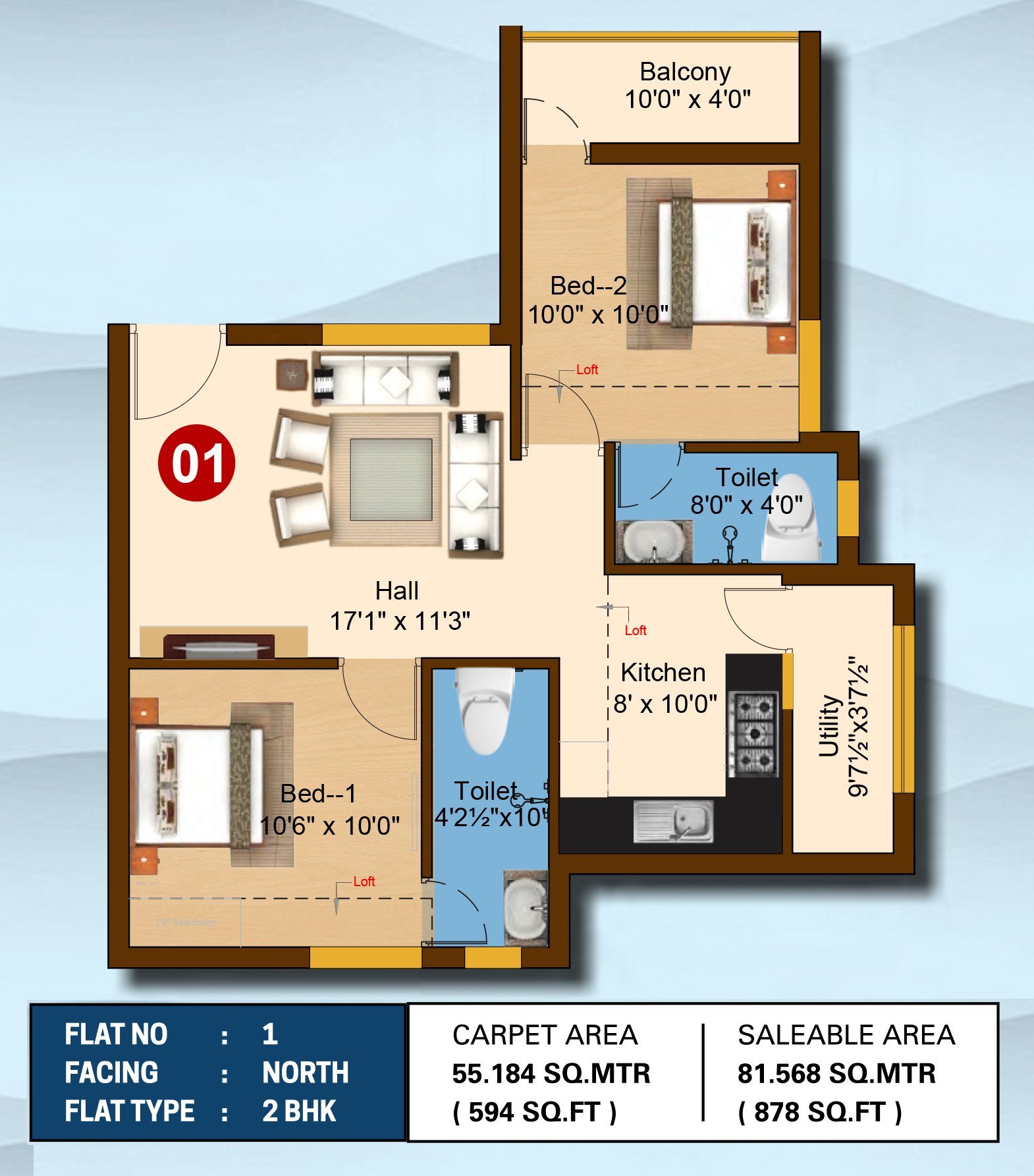 Ivadvi Floor Plan