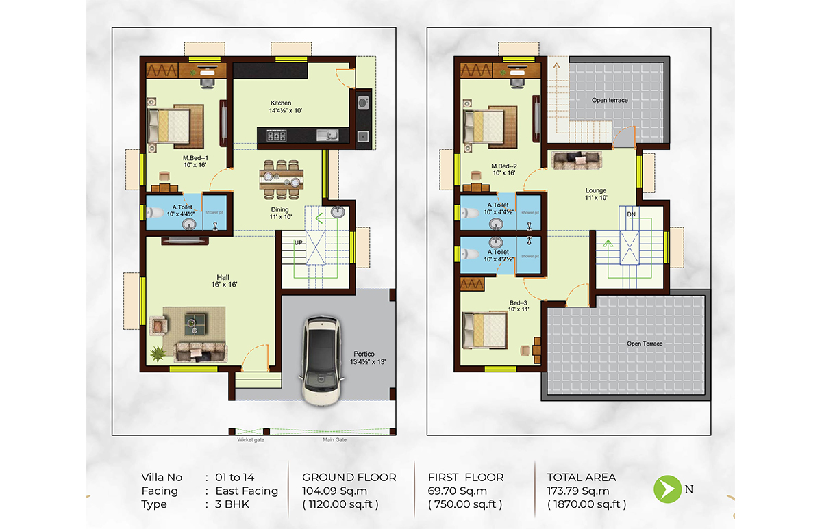 Praktva Floor Plan