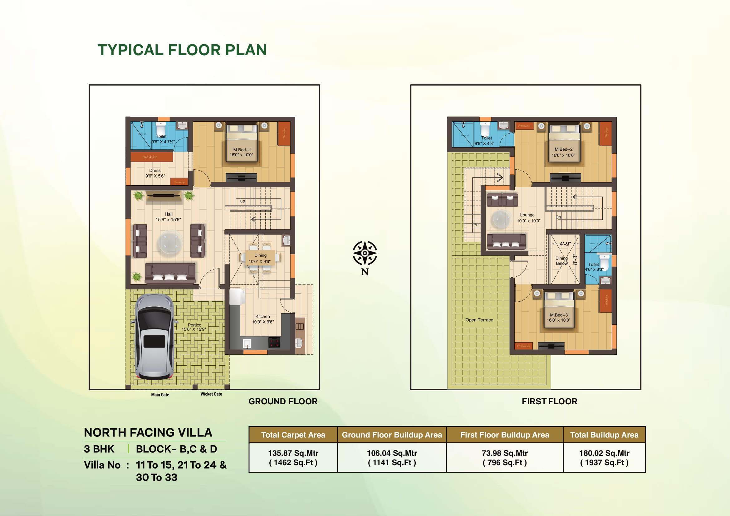 Naruvi Floor Plan
