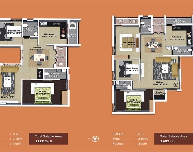 Yagnya floor plan A block