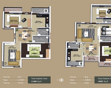 Yagnya floor plan B block