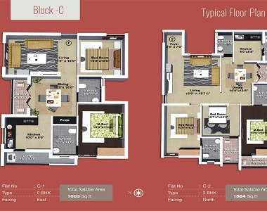 Yagnya floor plan C block